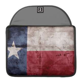 Old Texas Flag Sleeves For MacBooks