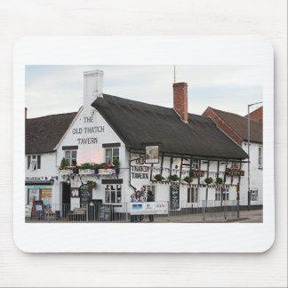 Old Thatch Tavern Stratford England Britain Mousepad