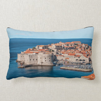 Old Themed, Ancient Village Of Castles With Red Ro Cushions