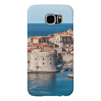 Old Themed, Ancient Village Of Castles With Red Ro Samsung Galaxy S6 Cases