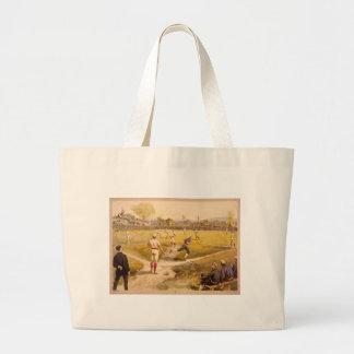 Old Time Base Ball Jumbo Tote Bag