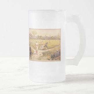 Old Time Base Ball Mugs