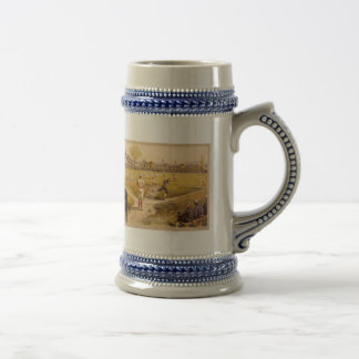 Old Time Base Ball Beer Steins
