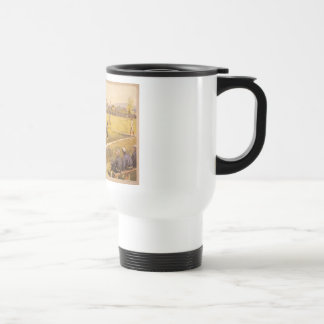 Old Time Base Ball Stainless Steel Travel Mug