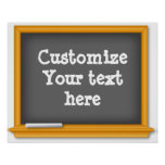 Old Time Blackboard, Customise Your Text
