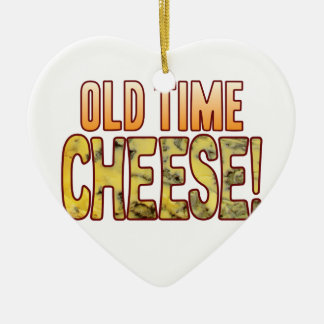 Old Time Blue Cheese Ceramic Heart Decoration