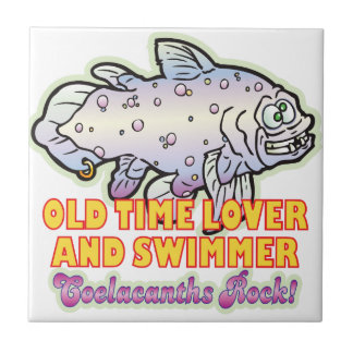Old Time Coelacanth Ceramic Tiles
