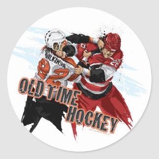 Old Time Hockey Sticker