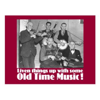 Old Time Music   K Postcards