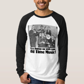 Old Time Music Men's Long Sleeve Raglan T-Shirt