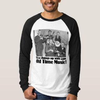 Old Time Music Men's Long Sleeve Raglan T Shirt