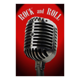 Old Time Rock and Roll 36 x 24 Poster