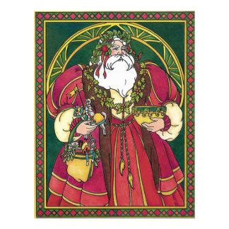 Old Time Santa Full Color Flyer