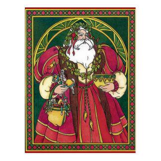 Old Time Santa Postcard