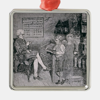 Old-Time School in Pennsylvania Christmas Ornament
