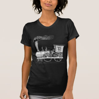 Old Time Steam Locomotive T-Shirt