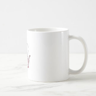 OLD TIME TEA KETTLE BASIC WHITE MUG
