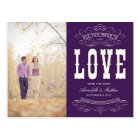 OLD TIME VINTAGE   SAVE THE DATE ANNOUNCEMENT POSTCARD