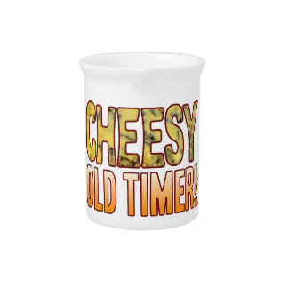 Old Timer Blue Cheesy Pitcher