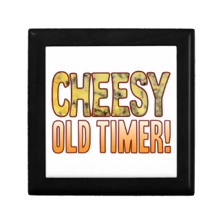 Old Timer Blue Cheesy Small Square Gift Box