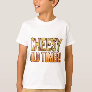 Old Timer Blue Cheesy T-Shirt