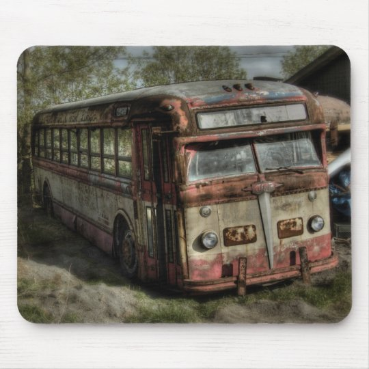 Old Timer Bus Mouse Mat