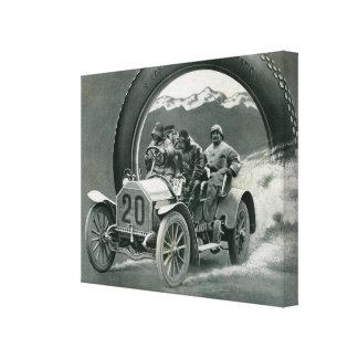 Old timer - Classics Cars Canvas Print