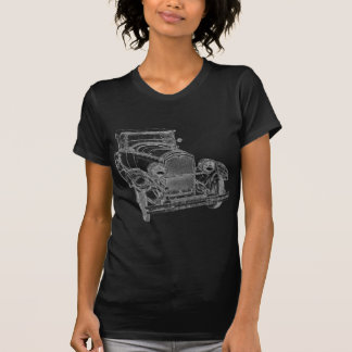 Old timer in-colored t-shirt