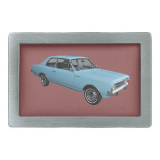 Old timer Opel Rekord Rectangular Belt Buckle