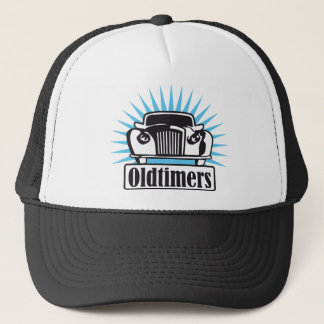 old timer trucker hat