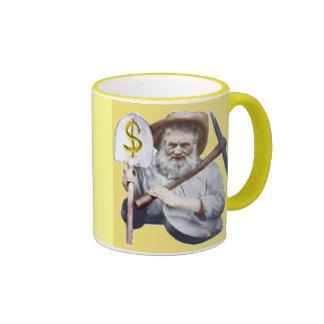 old timey prospector mug!!!! ringer mug