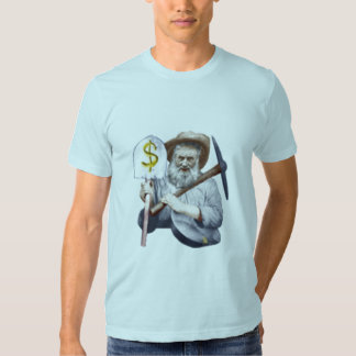 old timey prospector tee shirts