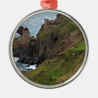 Old Tin Mine Botallack in Cornwall Christmas Ornament