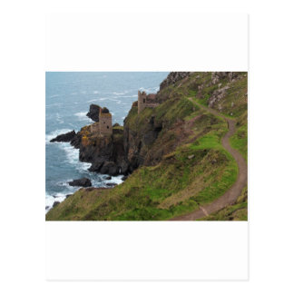 Old Tin Mine Botallack in Cornwall Postcard