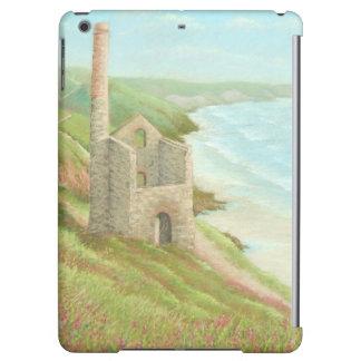 Old Tin Mine, Coast Path, Cornwall iPad Air Case