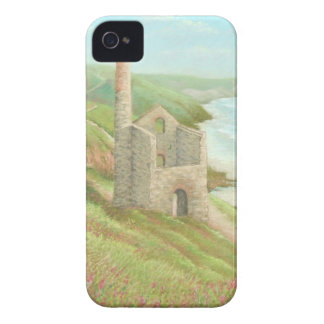 Old Tin Mine, Coast Path, Cornwall iPhone 4 Case