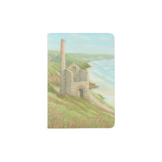Old Tin Mine, Coast Path, Cornwall Passport Holder