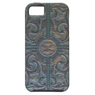 Old Tooled Leather Relic iPhone 5 Case
