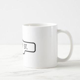Old Toronto Street Sign - Queen Street Coffee Mug