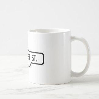 Old Toronto Street Sign - St George Street Coffee Mug