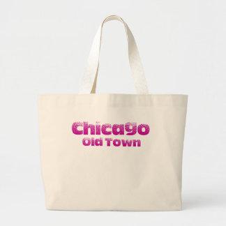 Old Town Chicago Beach Jumbo Tote Jumbo Tote Bag