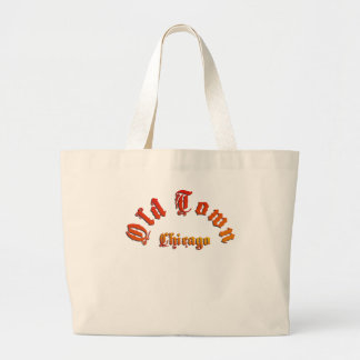 Old Town Chicago Jumbo Beach Tote
