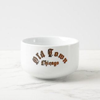 Old Town Chicago Large Soup n Chili Mug Soup Bowl With Handle