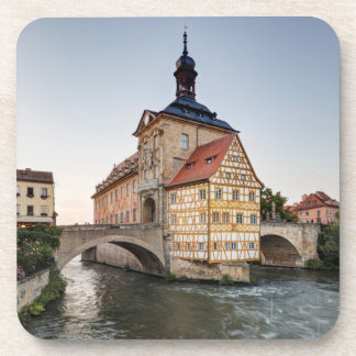 Old Town Hall and the Obere Bridge in Bamberg Coaster
