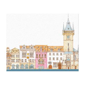 Old Town Hall. Prague Czech Canvas Print