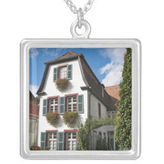 Old Town Heidelberg, Germany Silver Plated Necklace