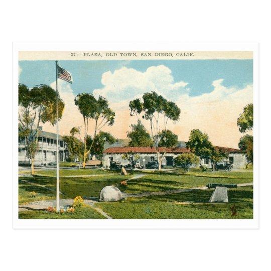 Old Town, San Diego Vintage Postcard