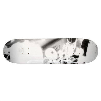 Old Tractor - negative Skateboard Decks
