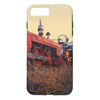 old tractor red machine vintage iPhone 7 plus case