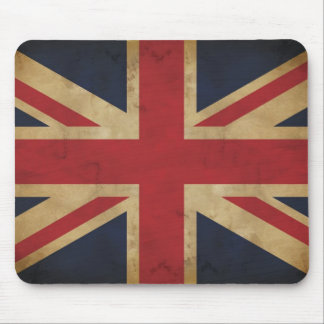 Old Traditional Union Jack Mousepad